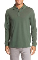 Nordstrom Men's Long Sleeve Pique Cotton Polo