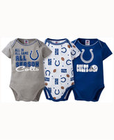 Gerber Babies' Indianapolis Colts 3 Piece Creeper Set