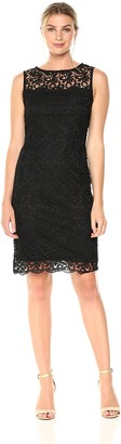 Tiana B T I A N A B. Women's Crochet Sheath Dress