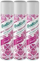 Batiste Dry Shampoo, Blush, 3 Count (Packaging May Vary)