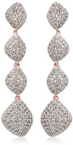 Monica Vinader Nura Teardrop Long Cocktail Earrings
