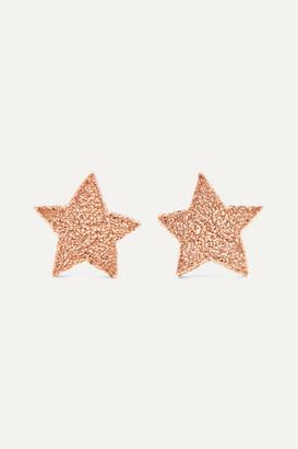 Carolina Bucci Superstellar 18-karat Rose Gold Earrings