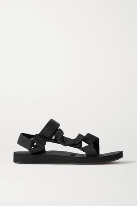 Arizona Love Trekky Fun Grosgrain Sandals - Black