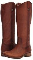 Frye Melissa Button Lug Tall (Cognac) Women's Boots