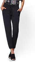 New York & Co. Drawstring-Tie Jogger Pant - Black