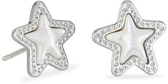 Kendra Scott Jae Star Silver Stud Earrings