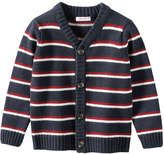 Joe Fresh Baby Boys' Stripe Cardi, JF Midnight Blue (Size 12-18)