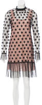 No.21 No. 21 2016 Star Patterned Lace Dress w/ Tags