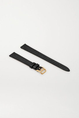 HERMÈS TIMEPIECES Heure H 17.2mm Leather Watch Strap - Gold
