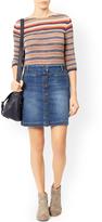 Monsoon Katrina Short Length Denim Skirt