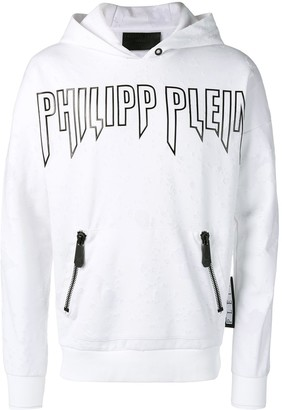 Philipp Plein Zipped Pocket Hoodie