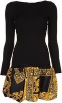Moschino bubble hem dress - women - Virgin Wool - 42