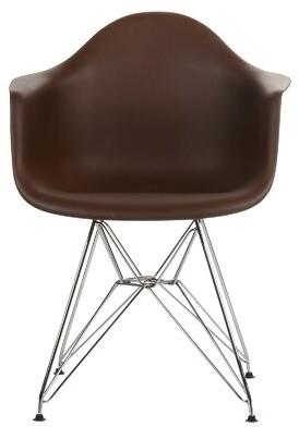Joseph Allen Ethan Arm Chair Color: Brown