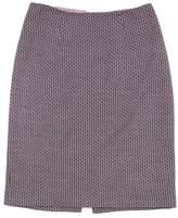 Kay Unger Pink Tweed Wool Blend Skirt