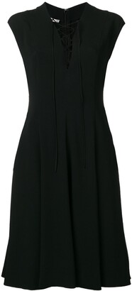 Stella McCartney Sleeveless Flared Mini Dress