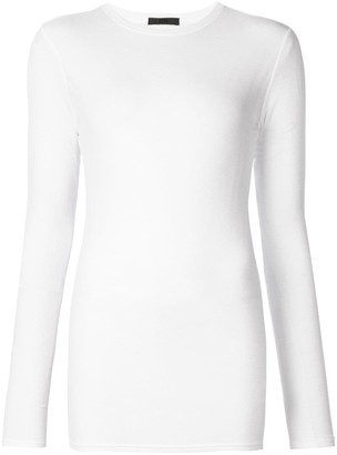 ATM Anthony Thomas Melillo Modal Rib Long Sleeve Crew