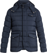 Herno Hooded quilted-down jacket