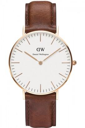 Daniel Wellington Ladies St Mawes Rose 36mm Watch DW00100035