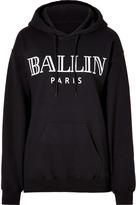 Ballin Brian Lichtenberg Cotton Blend Hoodie in Black/White