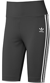 adidas Three Stripe Biker Shorts