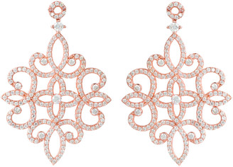 Latelita Sherazade Earrings Rose Gold