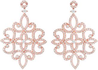 Sherazade Earrings Rose Gold