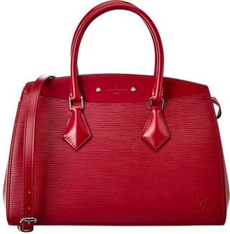 Louis Vuitton Purple Epi Leather Soufflot Mm