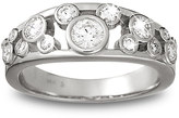 Disney Diamond Mickey Mouse Icon Ring for Women - 14K White Gold
