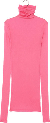American Vintage Massachusetts Hot Pink Rollneck - Small