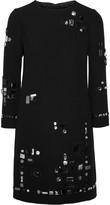Marc Jacobs Embellished crepe dress