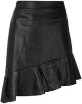 Just Cavalli asymmetric frill hem skirt