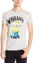 Hybrid Men's Despicable Me Whaaaa T-Shirt