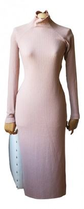 Enza Costa Pink Polyester Dresses