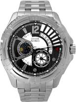 GUESS GUESS? Men's U20003G1 Silver Stainless-Steel Quartz Watch with Dial