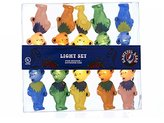 Kurt Adler Grateful Dead UL 10-Light Bears Light Set