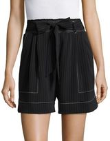 Tracy Reese Striped Dress Shorts