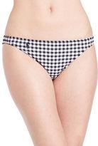Polo Ralph Lauren Seersucker Gingham Hipster Bikini Bottom