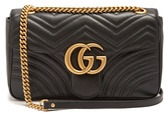 Gucci GG Marmont medium quilted-leather shoulder bag