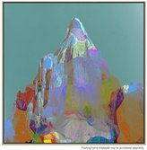 United Artworks Mt Point Canvas Print With Floating Frame