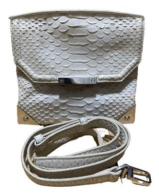 Alexander Wang White Leather Handbags