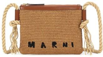 Marni Cotton-blend crossbody bag