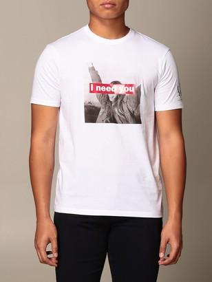 Armani Exchange T-shirt With I Need You Print