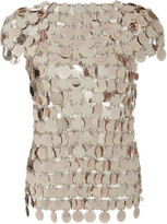 Paco Rabanne Sequin-Embellished Top
