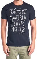 Diesel Mens T Shirt World Tour 1978 Barn Tee