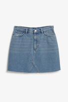 Thumbnail for your product : Monki Denim mini skirt