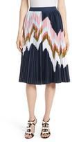 Ted Baker Women's Evianna Mississippi Print Pleated Skirt