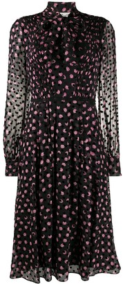 Dvf Diane Von Furstenberg Polka Dot Dress