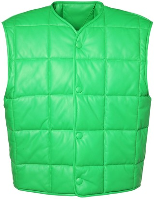 Bottega Veneta Padded Leather Vest