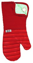 Jamie Oliver Silicone Oven Glove, Rustic Red