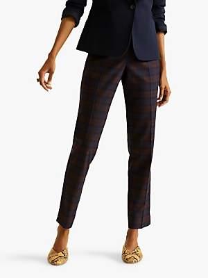 Jigsaw Tartan Paris Trousers